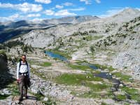 Between the JMT and the Lyell Glacier