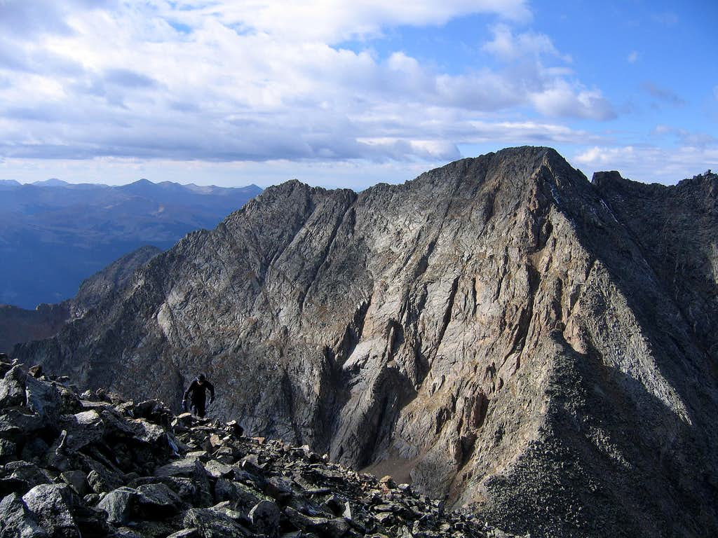 Ice Mtn from N Apostle