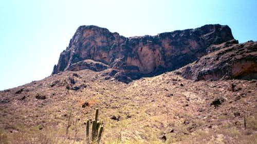 Picacho Peak from the trailhead
