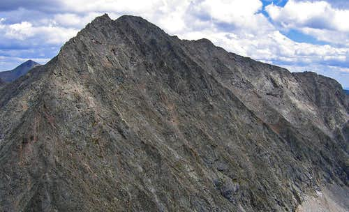 SW face of Ice Mountain