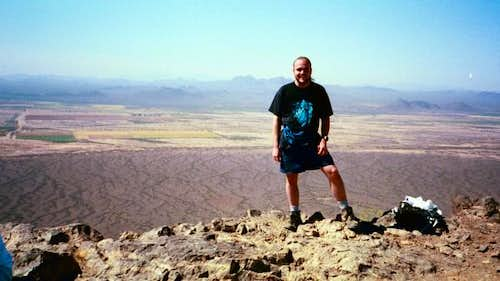Me on top of Picacho Peak