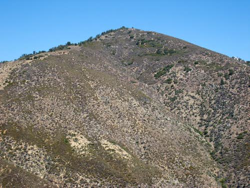 Round Top Mountain (6,316\'), San Gabriel Mtns.