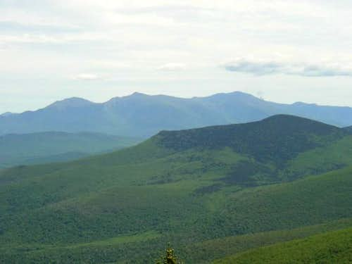 View of the north peak of...