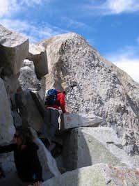 Approaching Pfeifferhorn