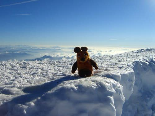 """Die Maus"" on Mont Blanc"