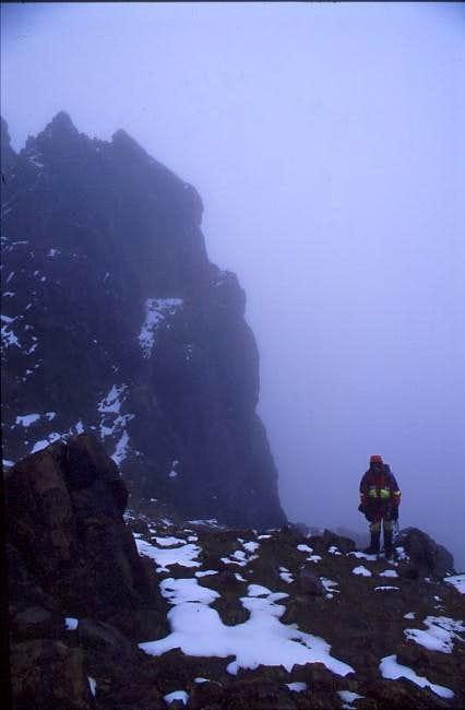 On the ridge of Illinias...
