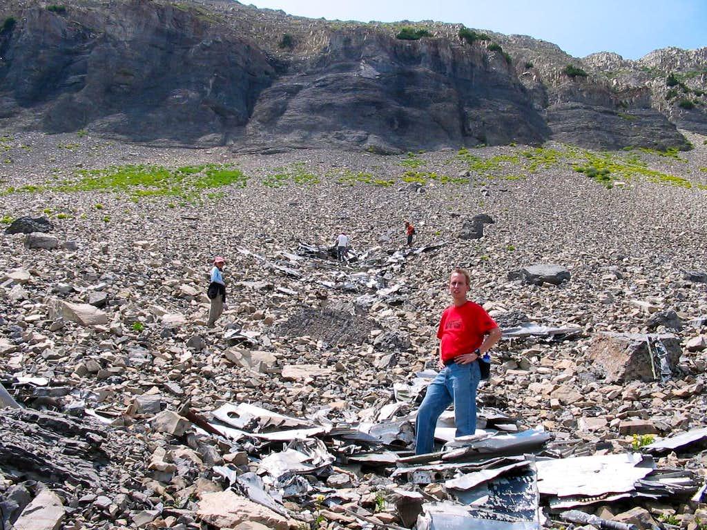 B-25 Crash Site