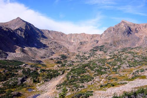 Mount Neva and Jasper