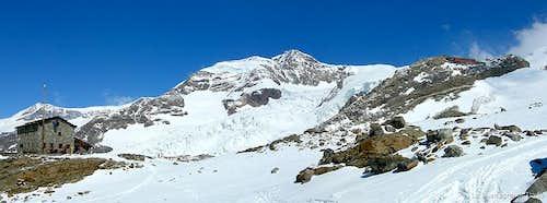 Monte Rosa (04/2007) Lyskamm