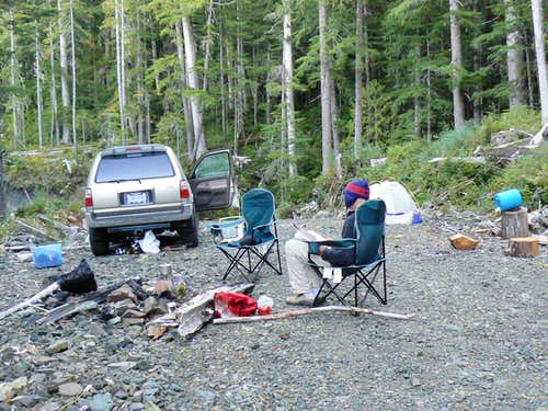 Hunters' camp