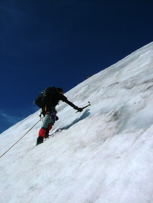 Last pitch on the East Face