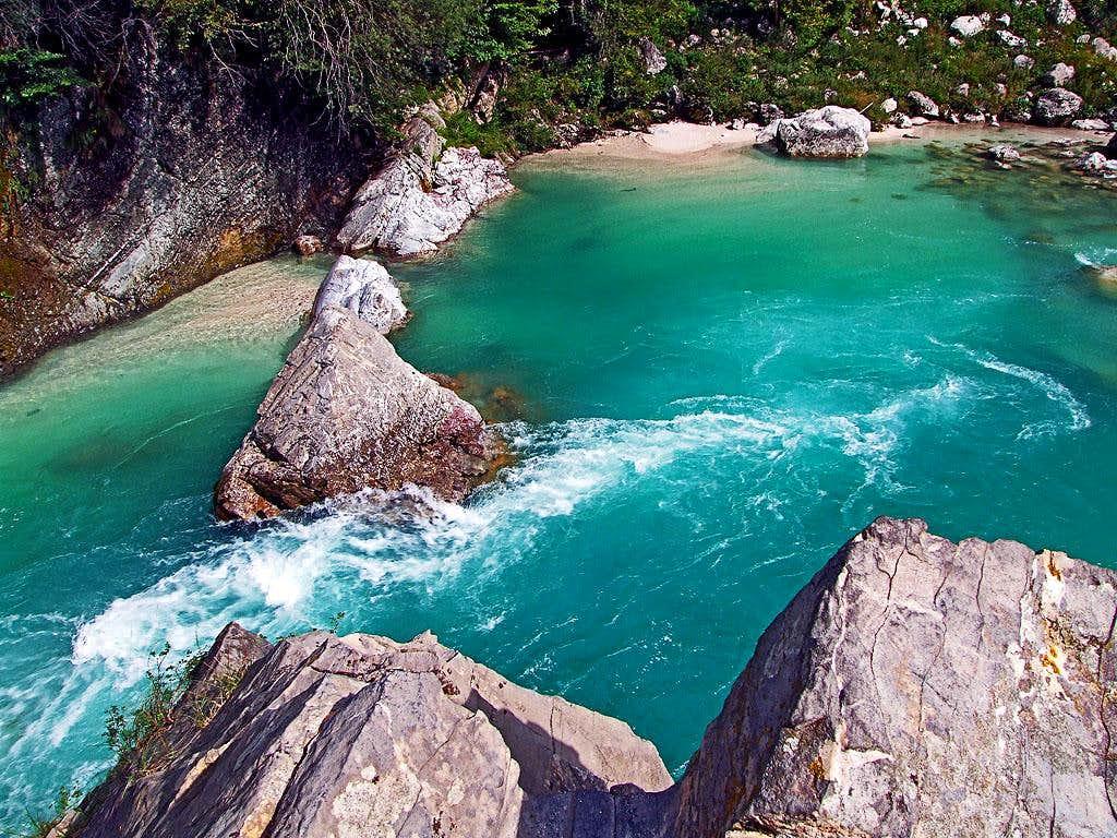 Soca river - Otona pool