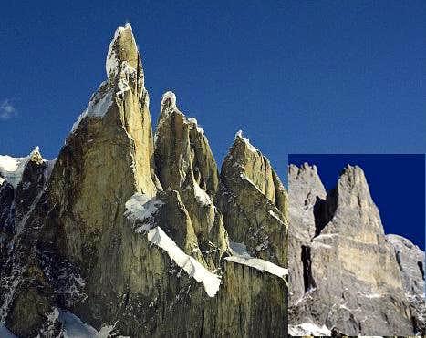 Cerro Torre vs Torre Trieste