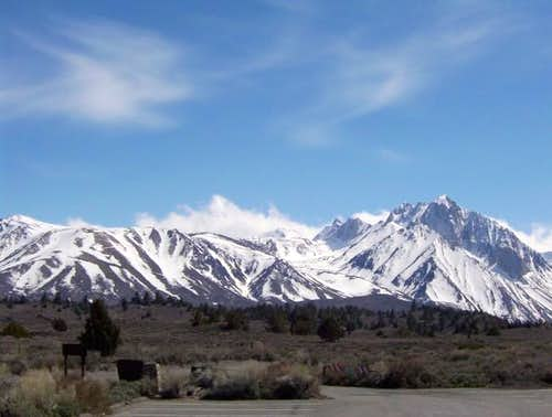 Mount Morrison from Hot Creek...