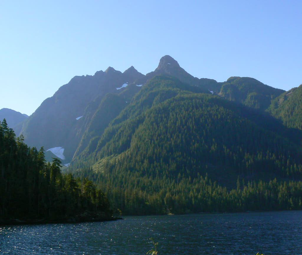 Pinder Peak and Atluck Lake
