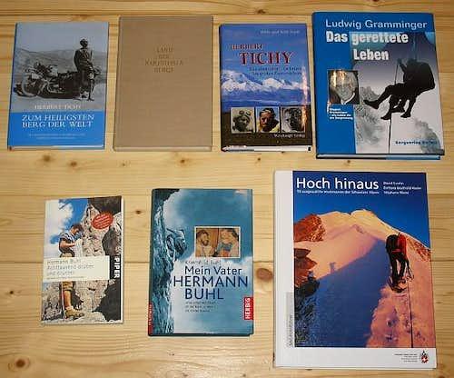 Herman Buhl, Herbert Tichy + Hoch hinaus