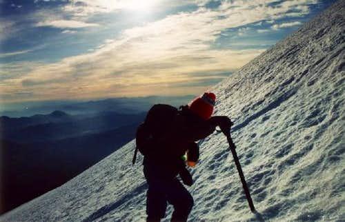 Climbing the Hotlam Glacier,...