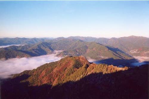 View from near the summit of...
