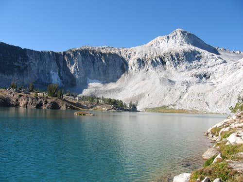 Glacier lake/peak