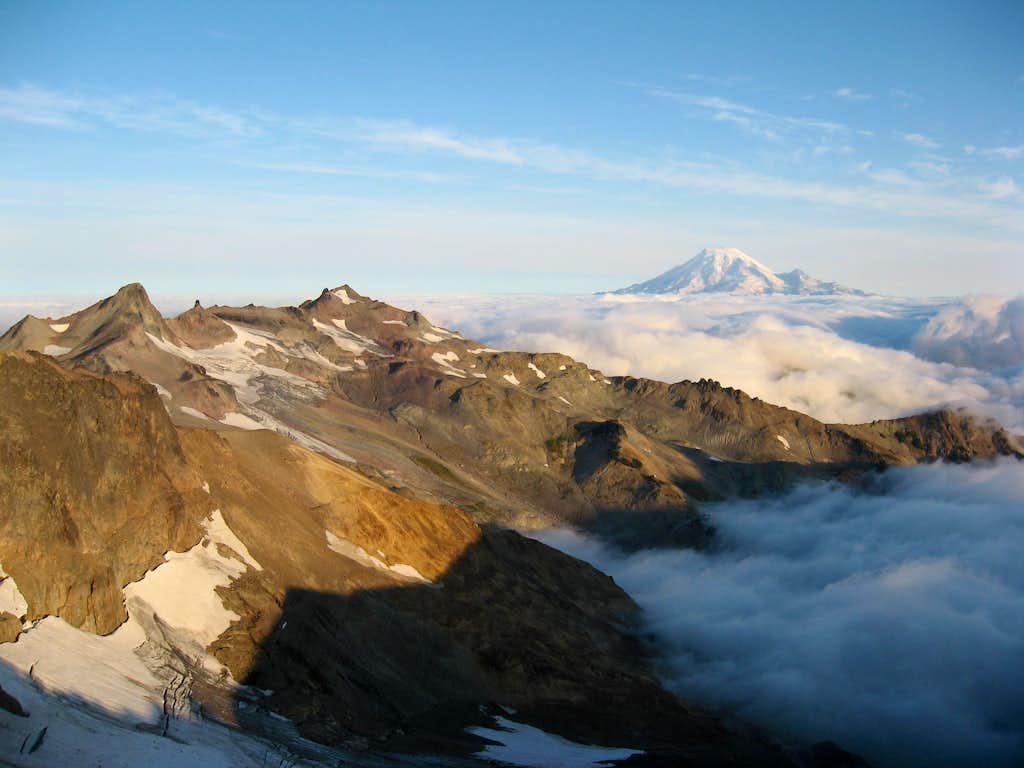 The view from Gilbert Peak's lower NW Ridge