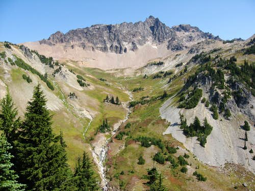 Cispus Basin and the Goat Rocks