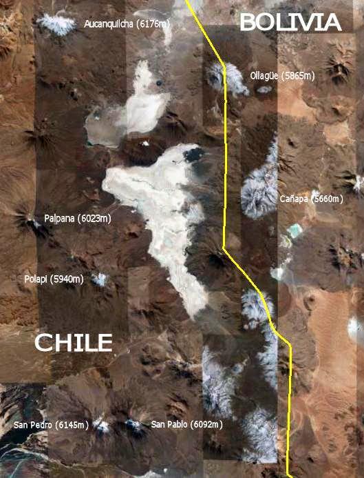 Cordillera Occidental - Map 3