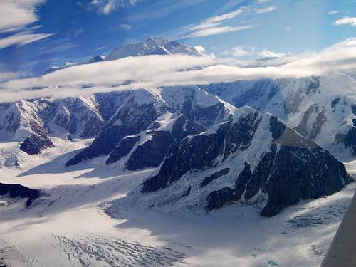 The Awe Inspiring South Face of Mount McKinley        (aka. DENALI)
