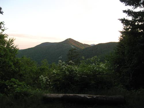 Sunset at Whiteface Shelter