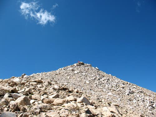 Atop Boundary Peak