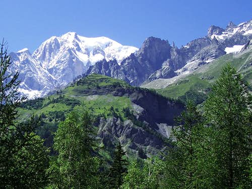 Mont Blanc East side