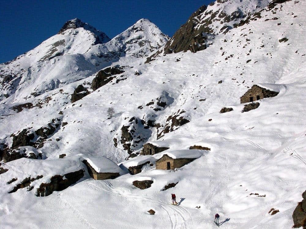 Ski-mountaineering in Ribordone Valley