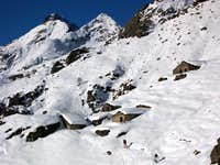 Ski-mountaineering in Ribordone Valley