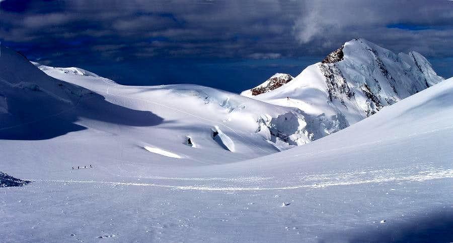 Monte Rosa -  Colle del Lys & Lyskamm