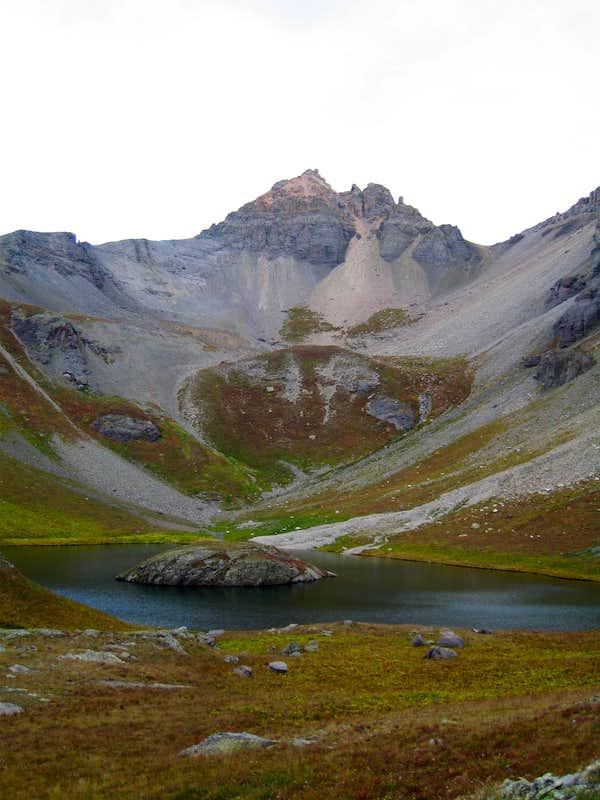 V 4  from Island Lake