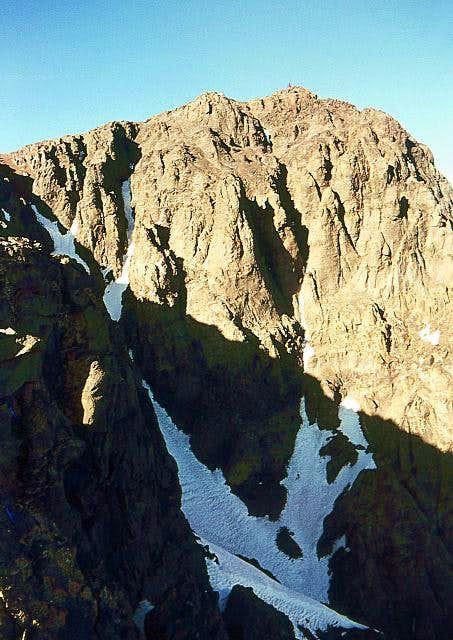 Ascending Toubkal. The summit...