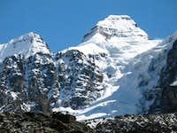 Condoriri as seen from  the lake at 4700 m