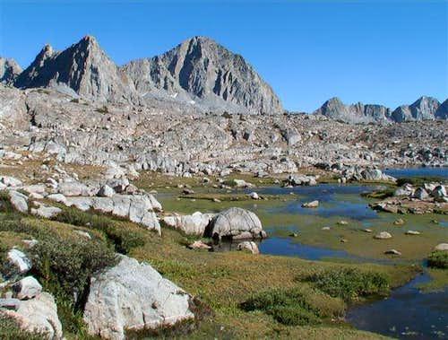Isosceles Peak and Columbine...