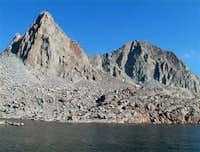 Isosceles Peak on the left...