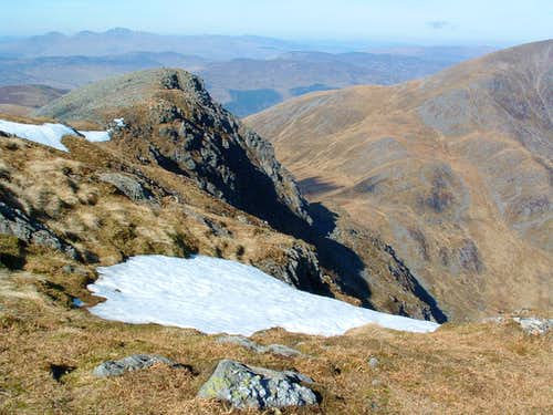 From the summit of Stuc a'Chroin
