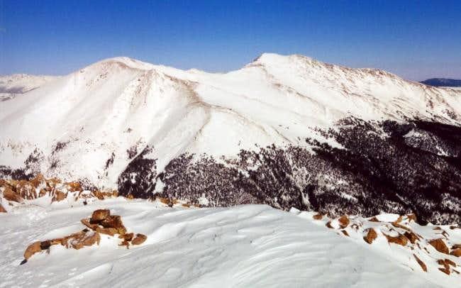 Mount Parnassus and Bard Peak...