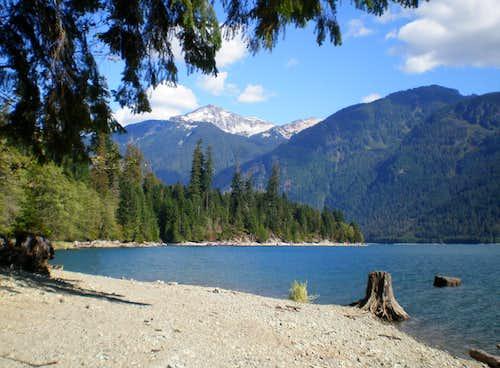 Mt Blum from Baker Lake