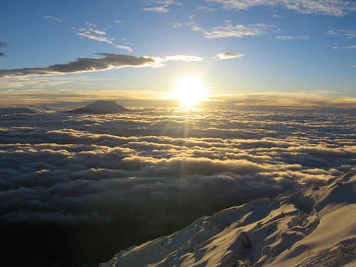 Cotopaxi at dawn