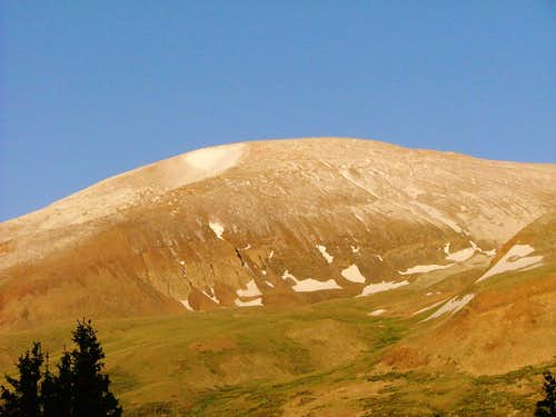 Mount Bross, Colorado.