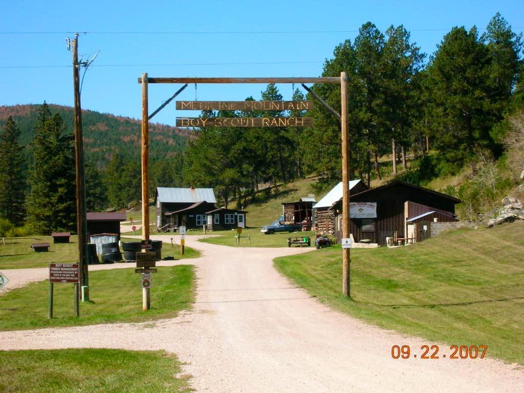 Scout Camp near Bear Mountain Trailhead