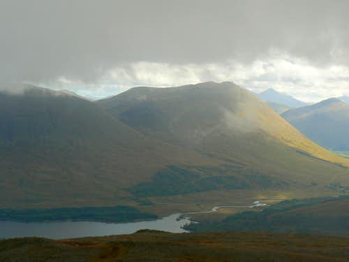 Beinn Dorain over Loch Tulla