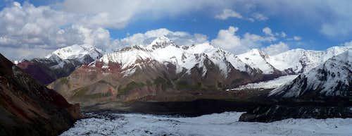View from Puteshestvenikov pass