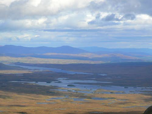 Loch Ba and Loch Laidon