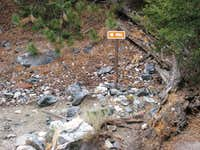 Vivian Creek Trail Sign-NOT FOR VOTING