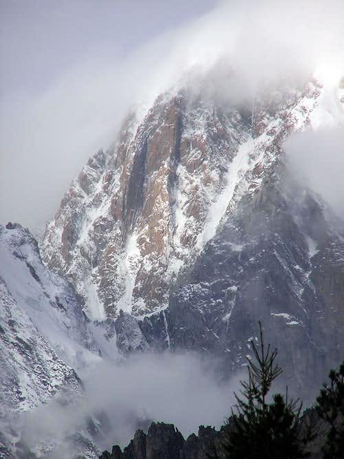 Mont Blanc - Freney Pillars