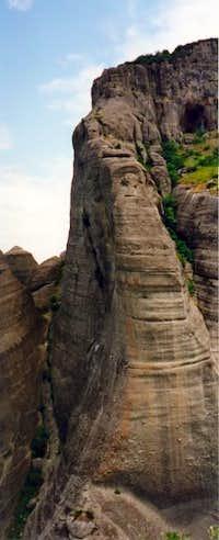 Megali Agia tower